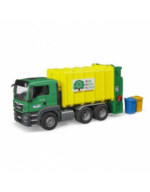 Medium Of Bruder Garbage Truck
