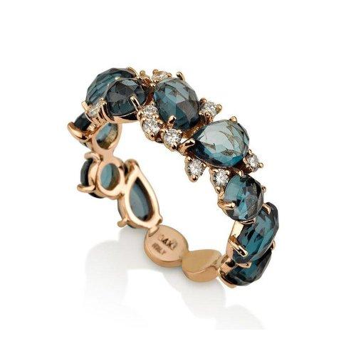 Medium Crop Of London Blue Topaz Ring