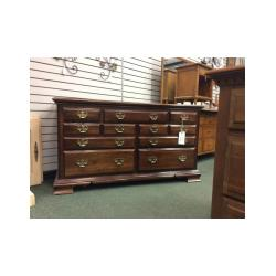 Small Crop Of Solid Wood Dresser