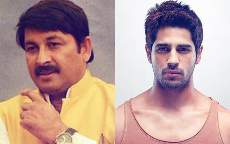 Sidharth Malhotra In TROUBLE     FIRs Will Be Filed In 4 States For     Sidharth Malhotra In TROUBLE     FIRs Will Be Filed In 4 States For Insulting Bhojpuri  Language     Says Manoj Tiwari