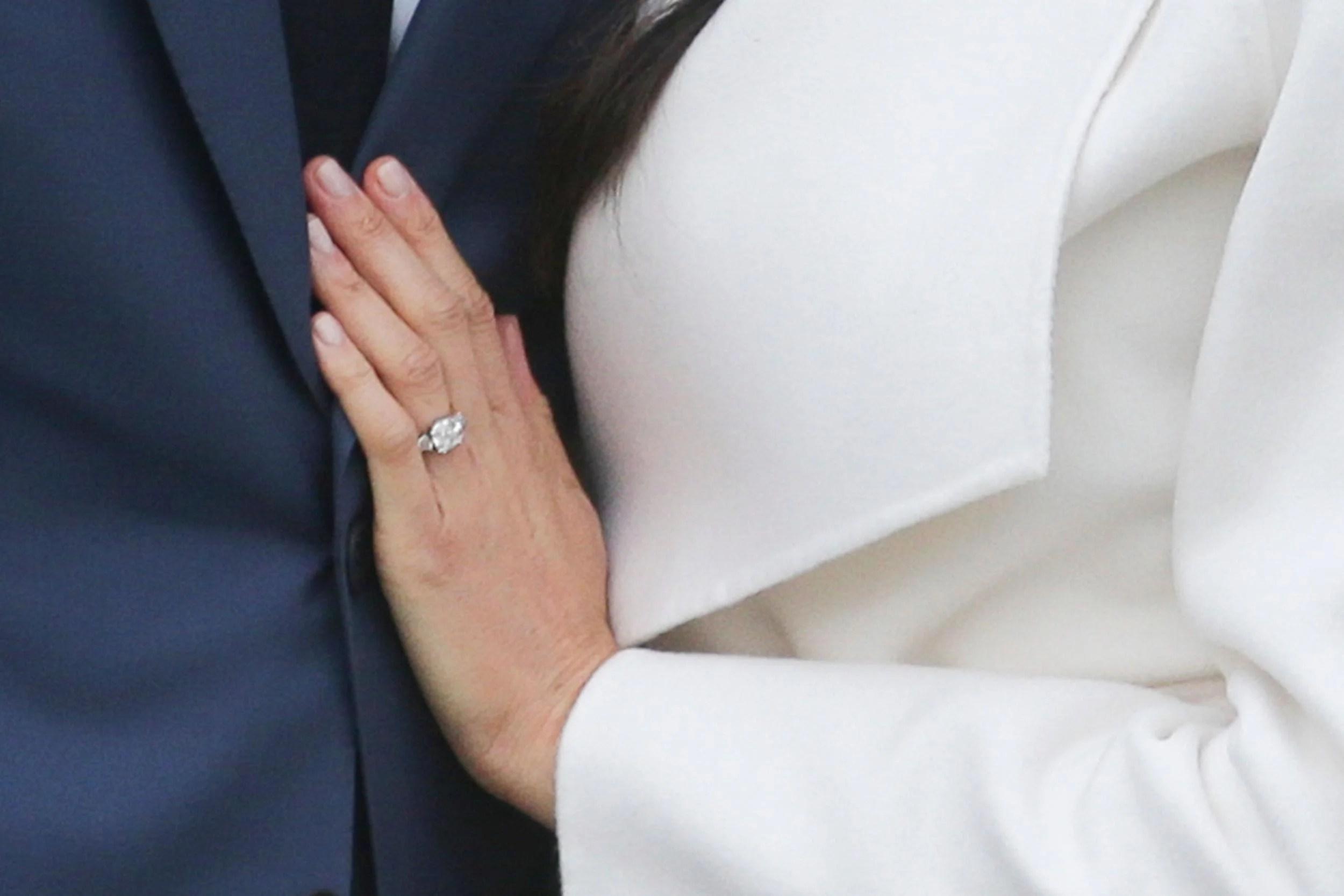 Fullsize Of Meghan Markle Engagement Ring
