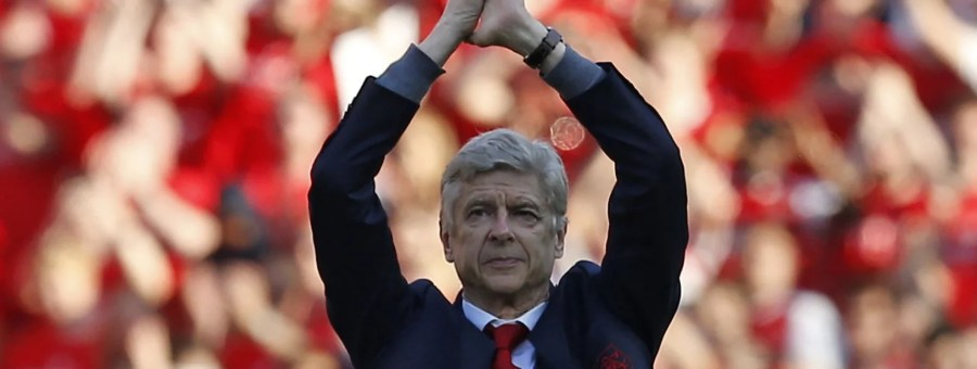 Image result for wenger farewell