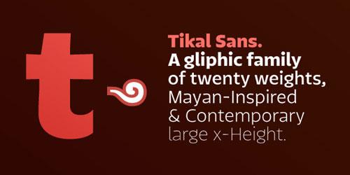 Tikal Sans Medium
