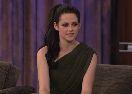 Kristen Stewart on Jimmy Kimmel Live: Part Two