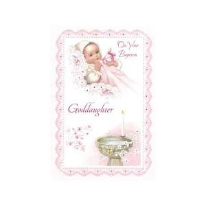 Luxurious Baptism Greeting Card Goddaughter Baptism Greeting Card Goddaughter Catholic Company Catholic Charities Cards Catholic Cards Sayings