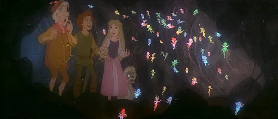 Image result for black cauldron fairies