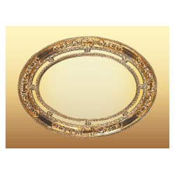 Small Crop Of Oval Picture Frame