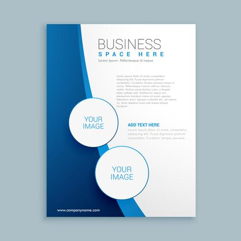 company brochure template design   Download Free Vector Art  Stock     company brochure template design