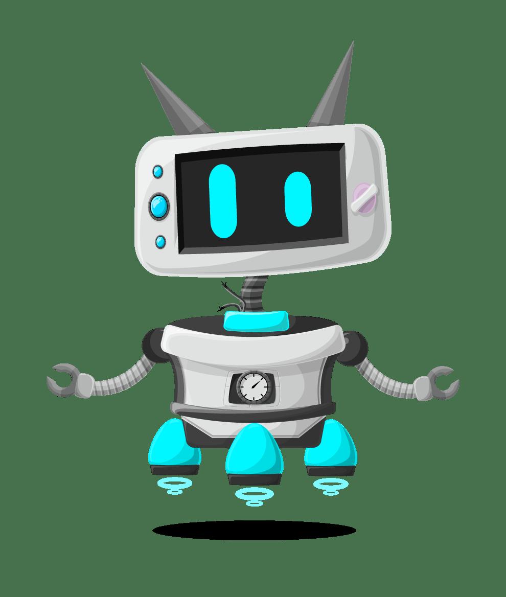 vector robot character set vector characters