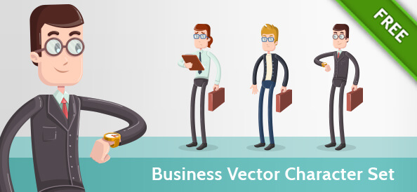 Business Vector Character Set