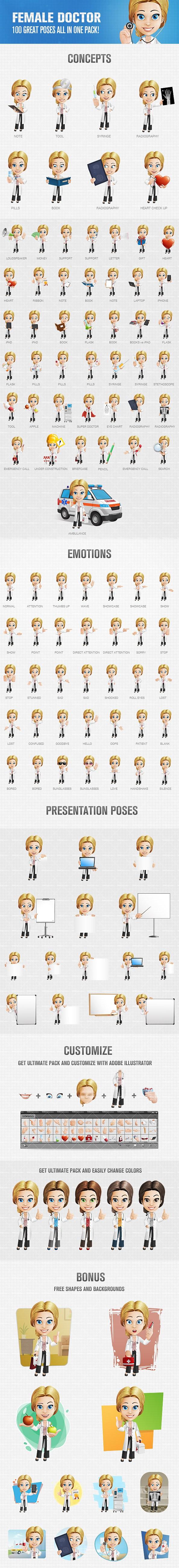blonde doctor girl