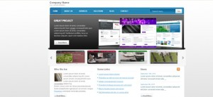 Free Corporate Website CSS Template