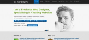 Free Website CSS Template for Personal Portfolio and Business