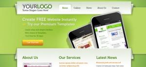 Green Portfolio Website CSS Template