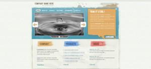 Grunge Website CSS Template
