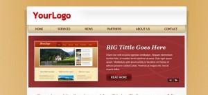 Personal Portfolio Website CSS Template