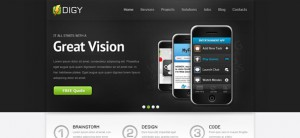 Free Responsive Template - Digy