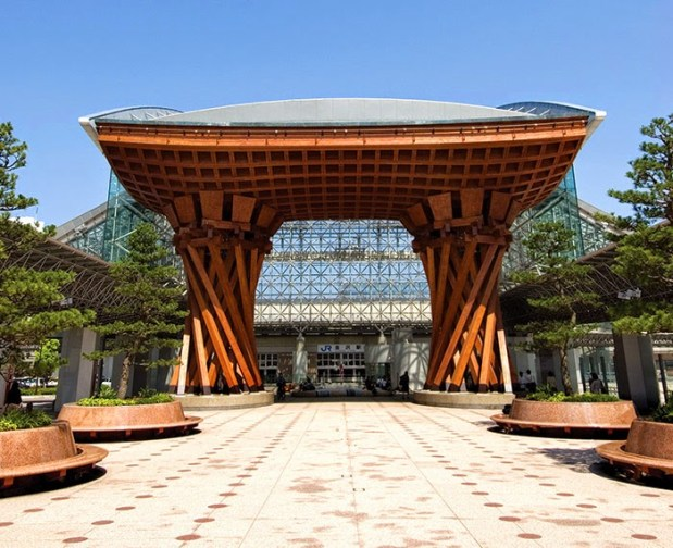 Shinkansen Kanazawa Station