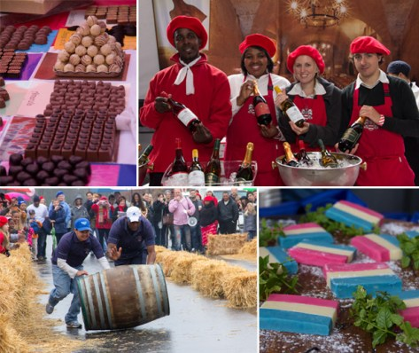 Events at the Franschoek Bastille Festival