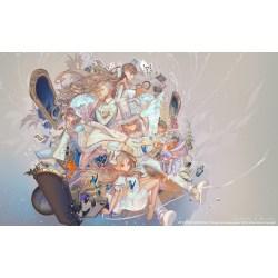 Small Crop Of Alice In Wonderland Wallpaper