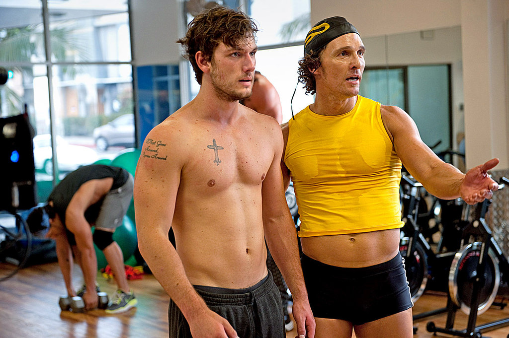 Review   Magic Mike   by Steven Soderbergh  With Channing Tatum     Alex Pettyfer  left  and Matthew McConaughey  denizens of the Xquisite  dance club  in    Magic Mike     Credit Claudette Barius Warner Brothers  Pictures