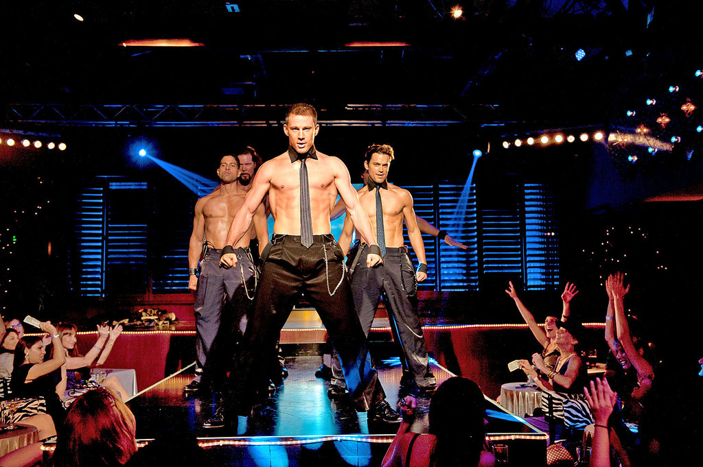Review   Magic Mike   by Steven Soderbergh  With Channing Tatum     From left  Adam Rodriguez  Kevin Nash  Channing Tatum and Matt Bomer in  Magic  Mike   Credit Claudette Barius Warner Brothers Pictures