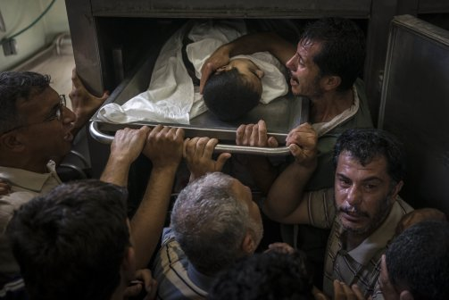 un school massacre gaza