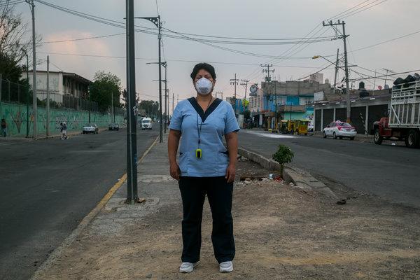 Rosario Luna, una enfermera.
