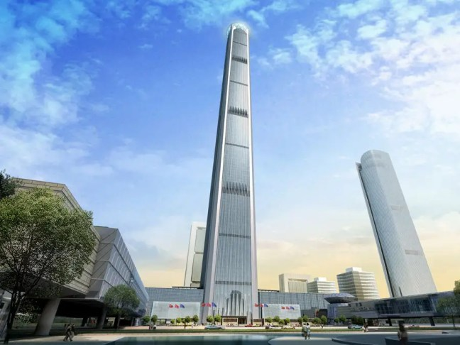#5 Goldin Finance 117 — Tianjin, China. Height (when completed): 1,958.68 feet