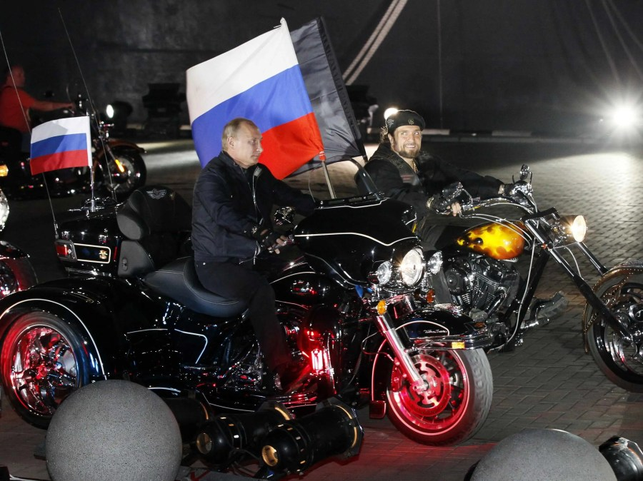 """The high council of Russian bikers unanimously voted him into a Hells Angels rank. His nickname is """"Abaddon,"""" a Hebrew word that roughly translates to The Destroyer."""