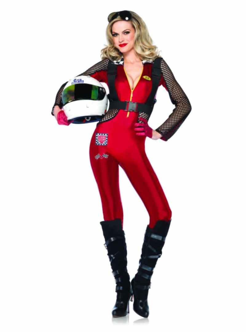 Large Of Race Car Driver Costume