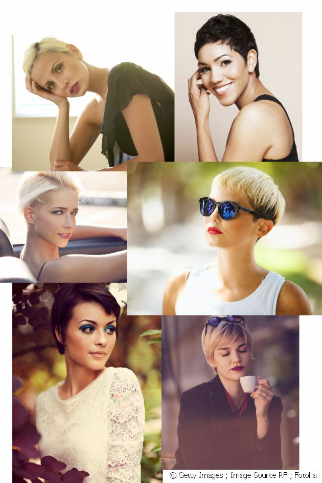 Fun facts: short hairstyles aren't feminine! of 1 by John