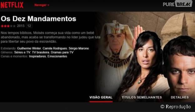 Netflix | Vai transmitir os 10 Mandamentos