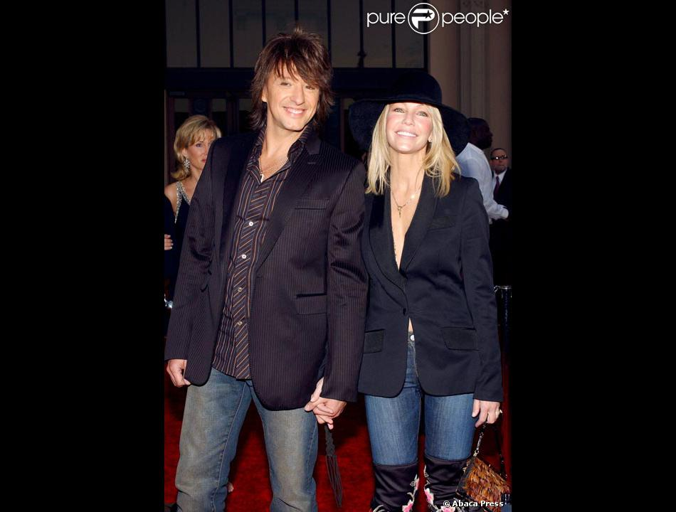 Heather Locklear avec Richie Sambora   Purepeople Heather Locklear avec Richie Sambora