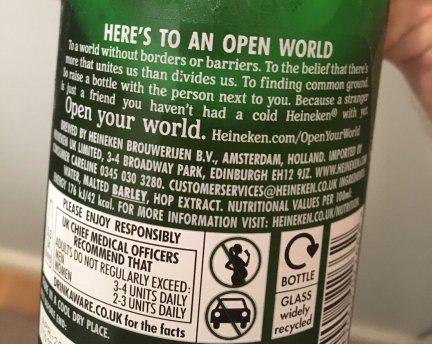 Image result for Conservatives Furious After Heineken Promotes Open Borders