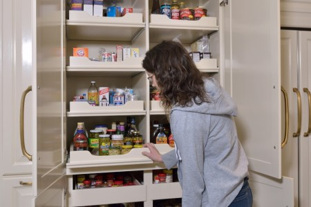 pantry in cabinet kitchen