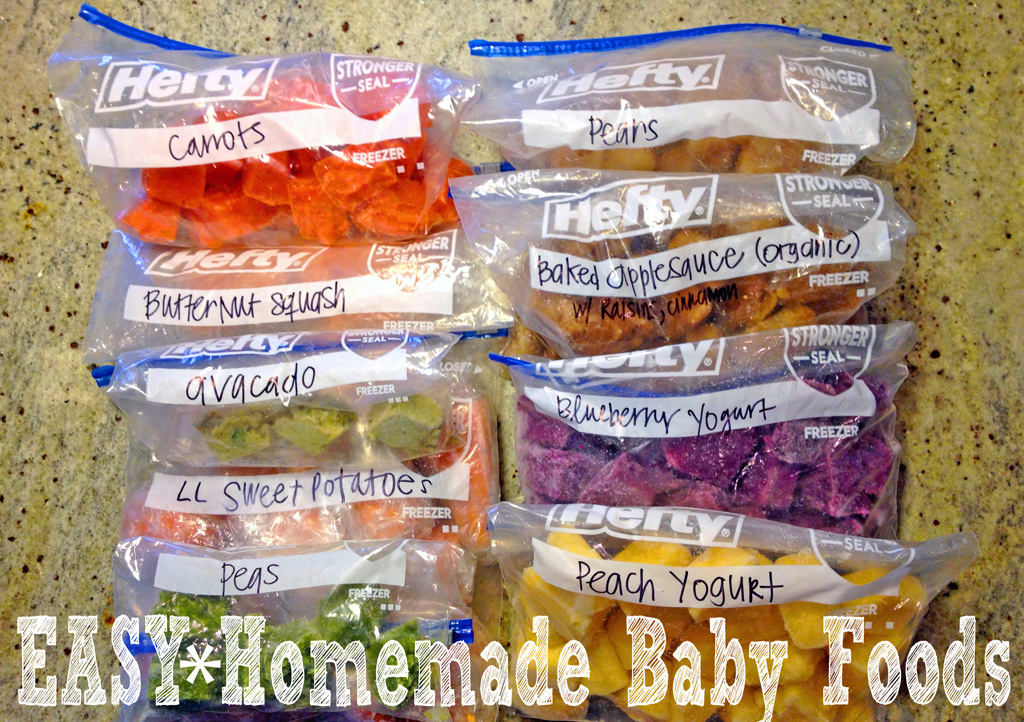 Easy Homemade Baby Food in a Flash