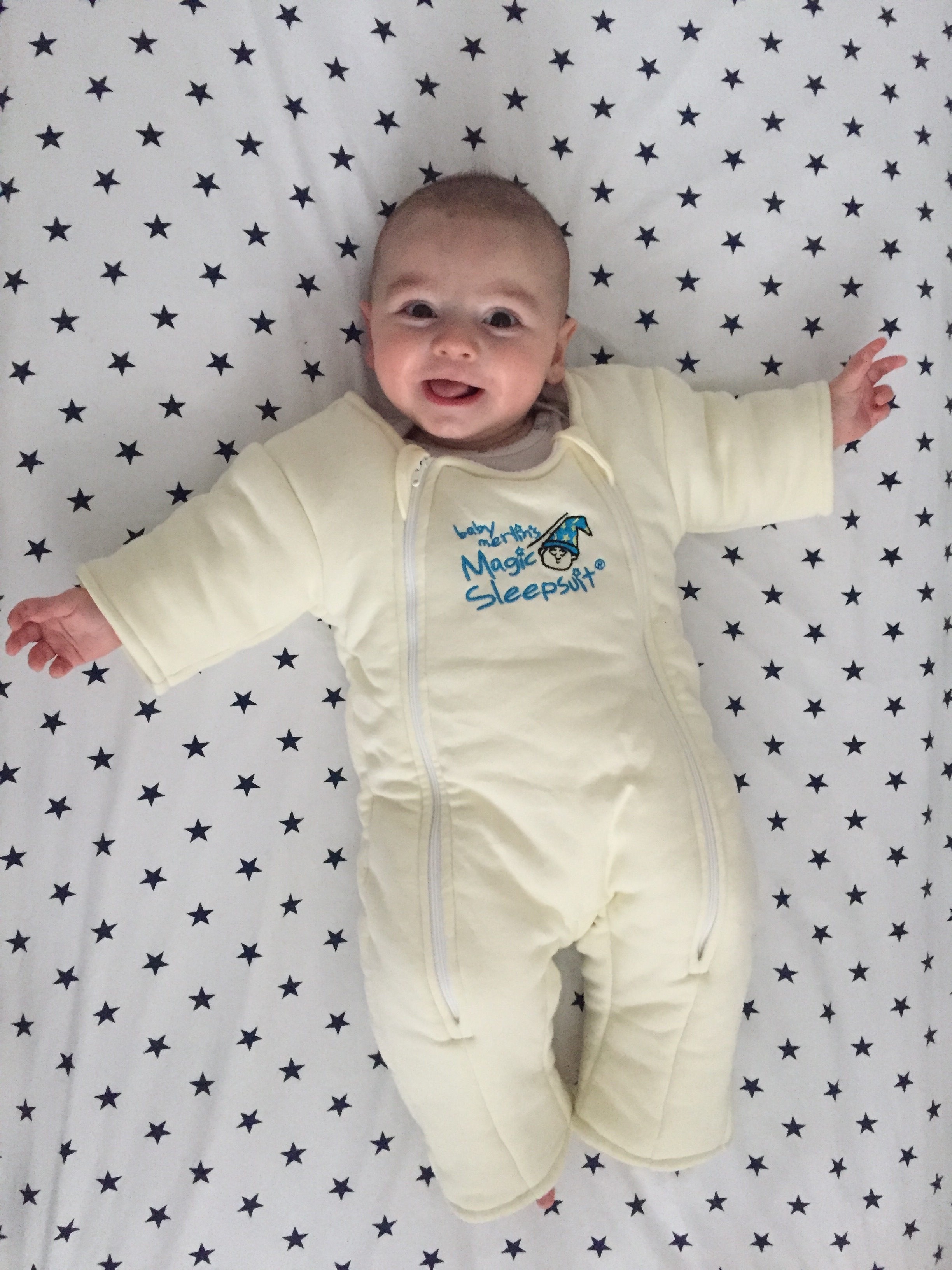 Magnificent Most We Still Rely On Trusty Swing To Help Hudson Fall Asleepand We Recently Purchased Magic Sleep Suit To Help Hudson Four Month Time Capsule Norrn Va Newborn baby Merlin Sleep Suit