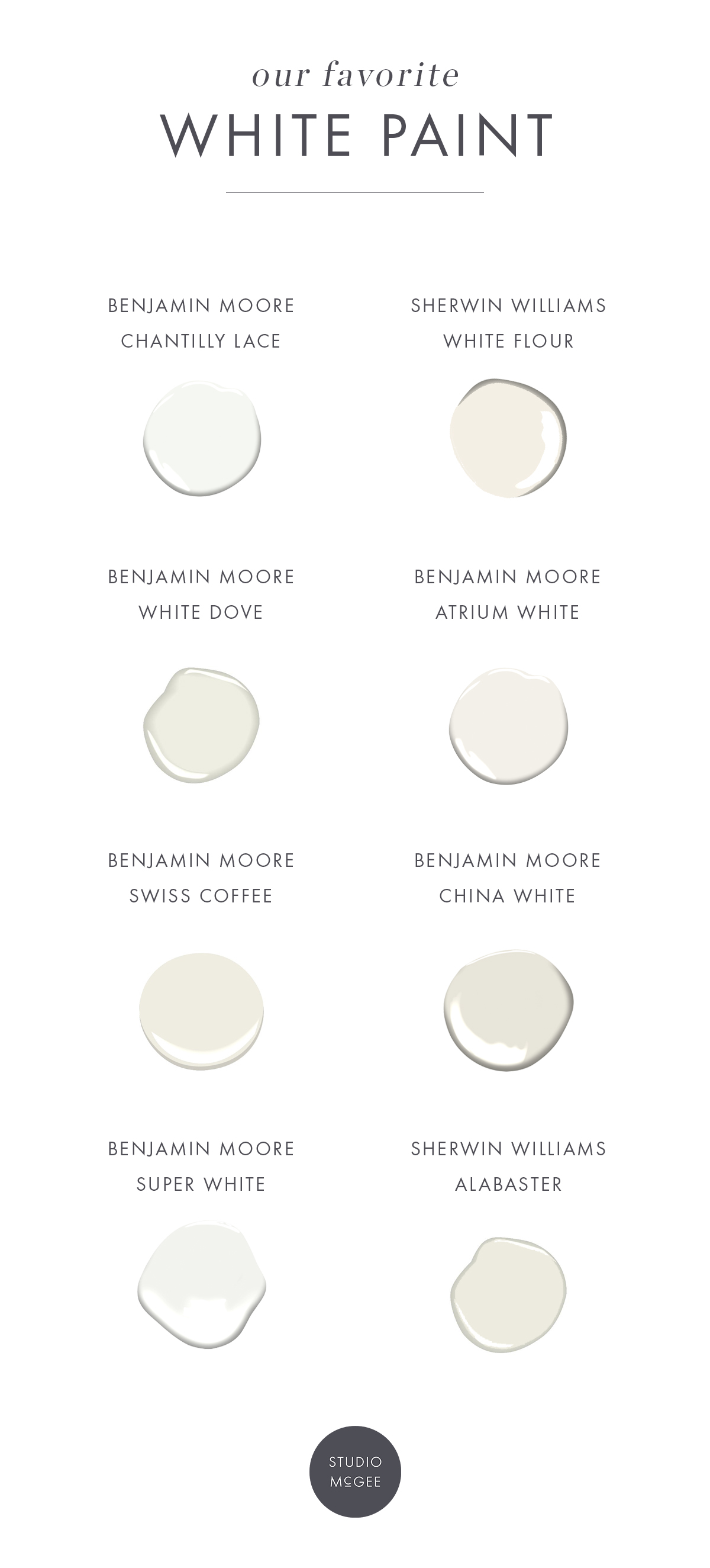 Brilliant Our Paint S Studio Mcgee Benjamin Moore Chantilly Lace Vs Super Benjamin Moore Chantilly Lace Semi Gloss houzz-03 Benjamin Moore Chantilly Lace