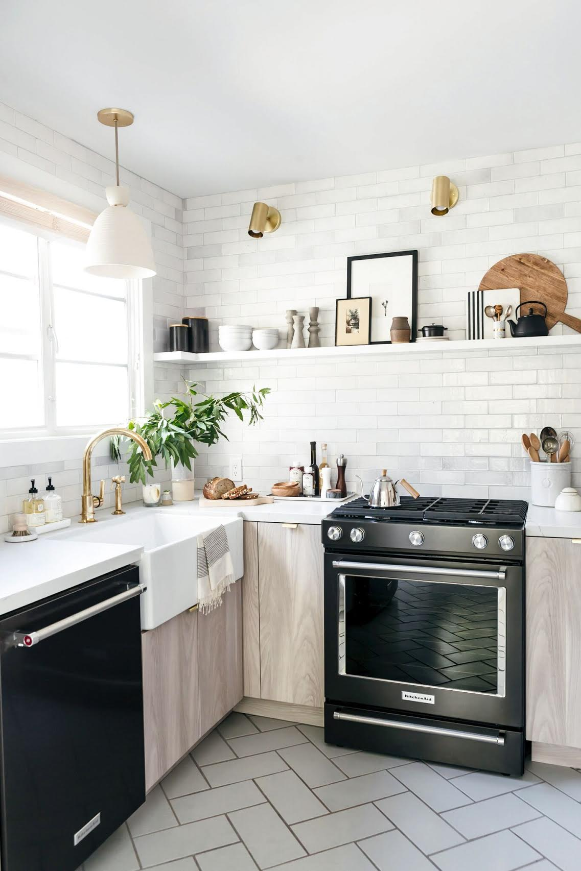 Magnificent Regardless A Small Tips Designing A Small Kitchen Studio Mcgee Interior Design Small Kitchen Ideas Colors You Keeping It Consistent Throughout Is Agood Way To Go kitchen Interior Design Small Kitchens
