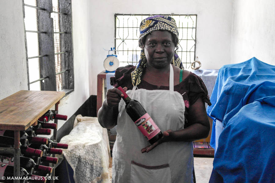 Meet Forestiana, wine processor, business woman and proof of positive #lastingchange