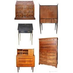 Small Crop Of Antique Secretary Desk