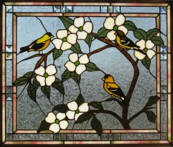 Small Of Stained Glass Window Film
