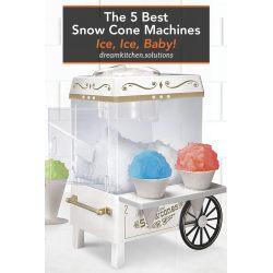 Small Crop Of Snow Cone Machine