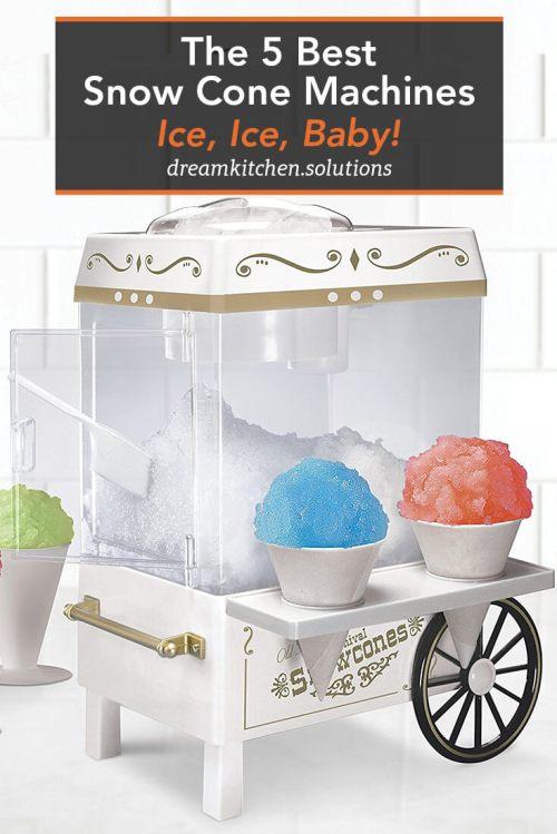 Medium Of Snow Cone Machine