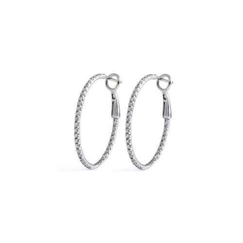 Hairy Thin Oval Diamond Hoop Earrings Jewelry By Marsha Thin Oval Diamond Hoop Earrings Diamond Hoop Earrings Huggies Diamond Hoop Earrings Jared