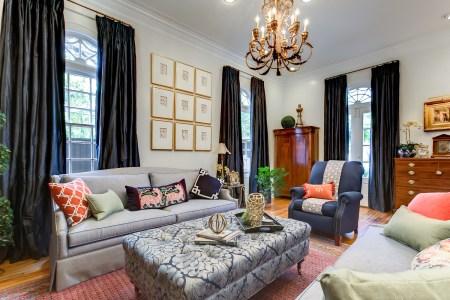 khb interiors luxury interior design navy family room day of design