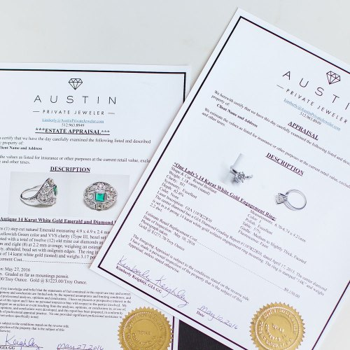 Medium Of Jewelry Appraisal Cost