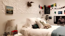 Howling Diy Dorm Decorating Tips Daytripper University Dorm Wall Decor Ideas Dorm Wall Decorations Pinterest