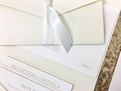 Medium Of Reception Card Wording